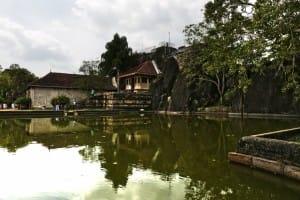 Pond lake at Anuradhapura
