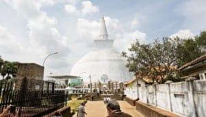 Temple in Anuradhapura