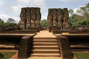 Temple at Polonnaruwa