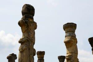 Columns in Polonnaruwa