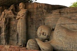 Statues at Polonnaruwa