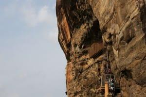 Walking on the path of Sigirya
