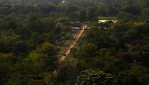 Aerial photo of Sigirya