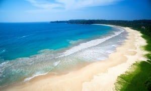 Aerial view of Talalla Beach
