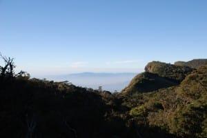 Scenery at World's End & Horton Plains National Park