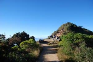 Walking path at World's End & Horton Plains National Park