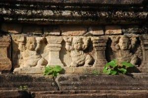 Stone carvings at Polonnaruwa