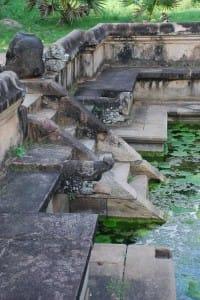 City of Polonnaruwa ancient foundation