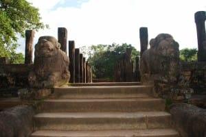 Stairway at Polonnaruwa