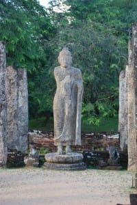 Large statue at Polonnaruwa