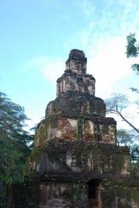 Ancient temple at Polonnaruwa