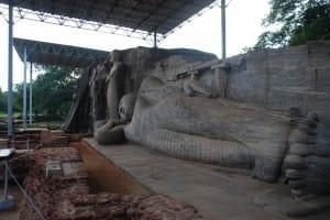 Reclined Bhudda at Polonnaruwa