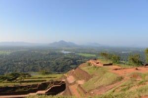 Ancient grounds of Sigirya