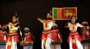 Dancers in Kandy Sri Lanka