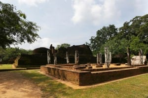 Ancient city grounds of Polonnaruwa