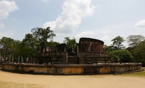 Polonnaruwa Ancient city foundation