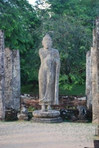 Large statue at Polonnaruwa