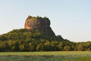 View of Sigirya from below