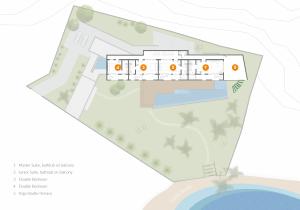 Floor plan of the 1st floor