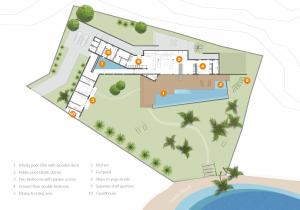 Talalla house ground floor plan